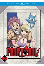Funimation Entertainment Fairy Tail Part 20 Blu-Ray/DVD*