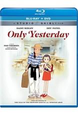 Studio Ghibli/GKids Only Yesterday Blu-Ray/DVD