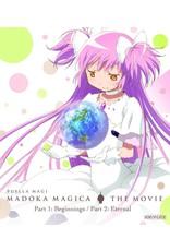 Aniplex of America Inc Puella Magi Madoka Magica the Movie Part 1 & 2 Std Ed Blu-Ray/DVD