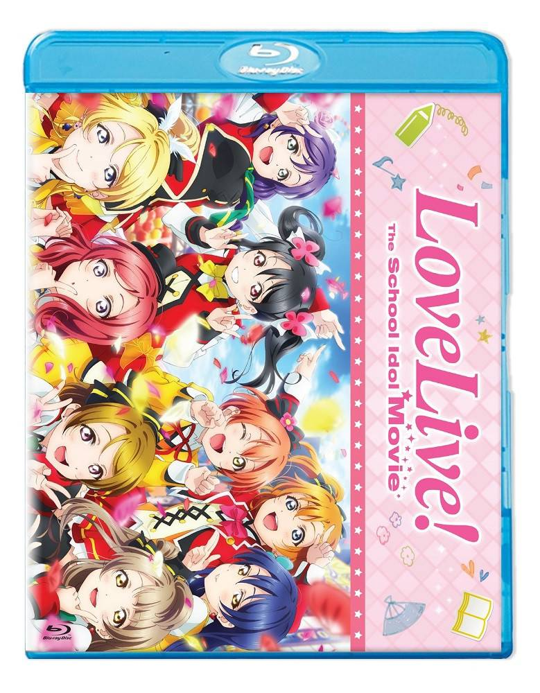 NIS America Love Live! The School Idol Movie Standard Edition Blu-Ray