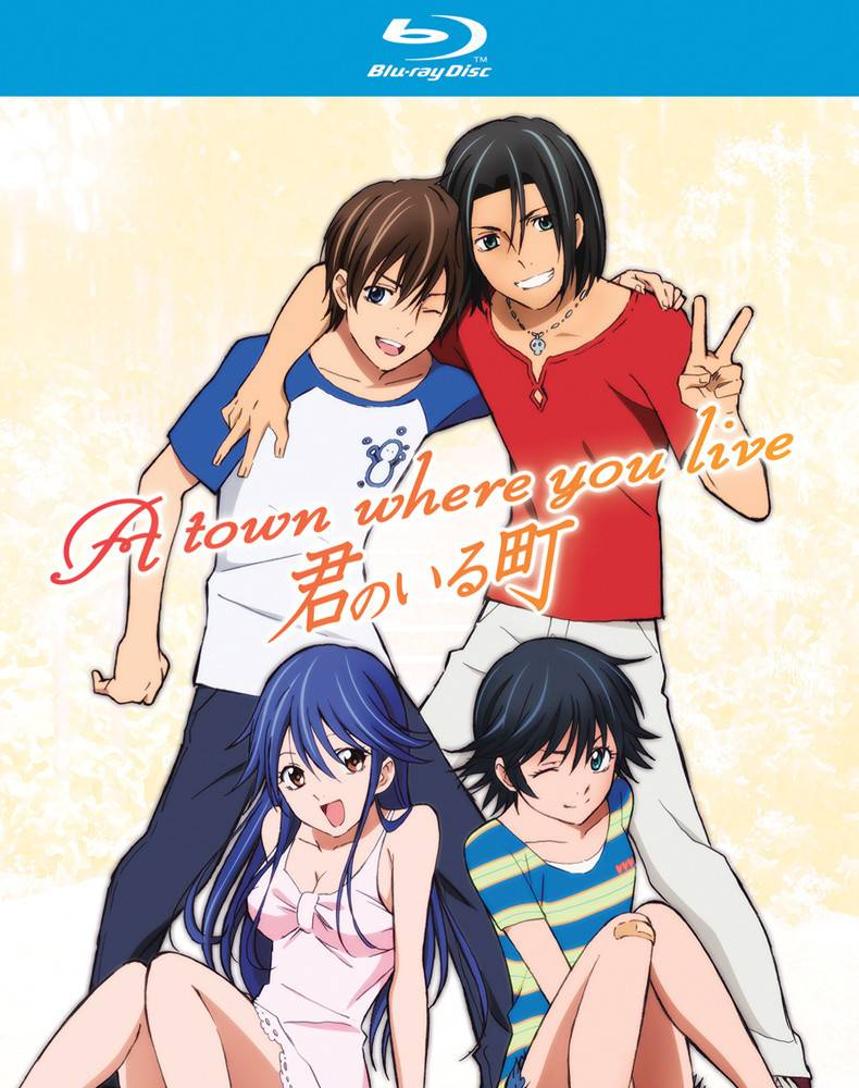 Nozomi Ent/Lucky Penny Town Where You Live, A Complete Series Blu-Ray