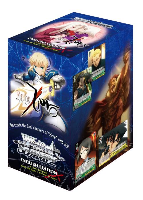 Bushiroad Fate Zero (Full Booster Box) Weiss Schwarz