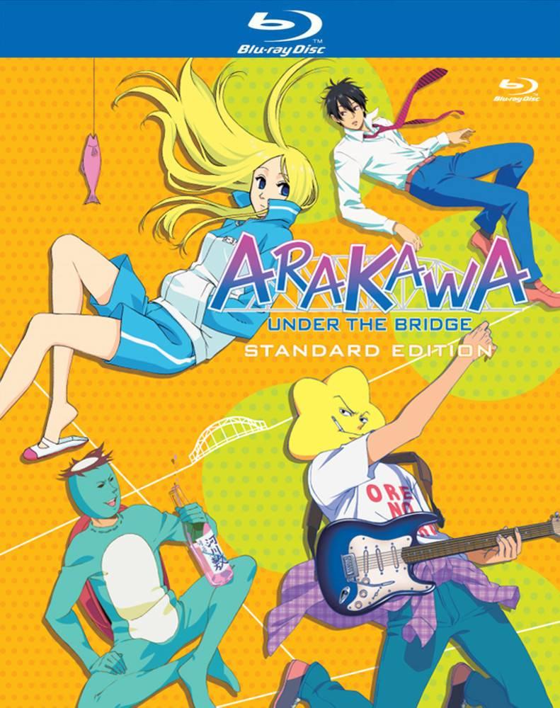 NIS America Arakawa Under the Bridge S1 Blu-Ray Standard Edition*