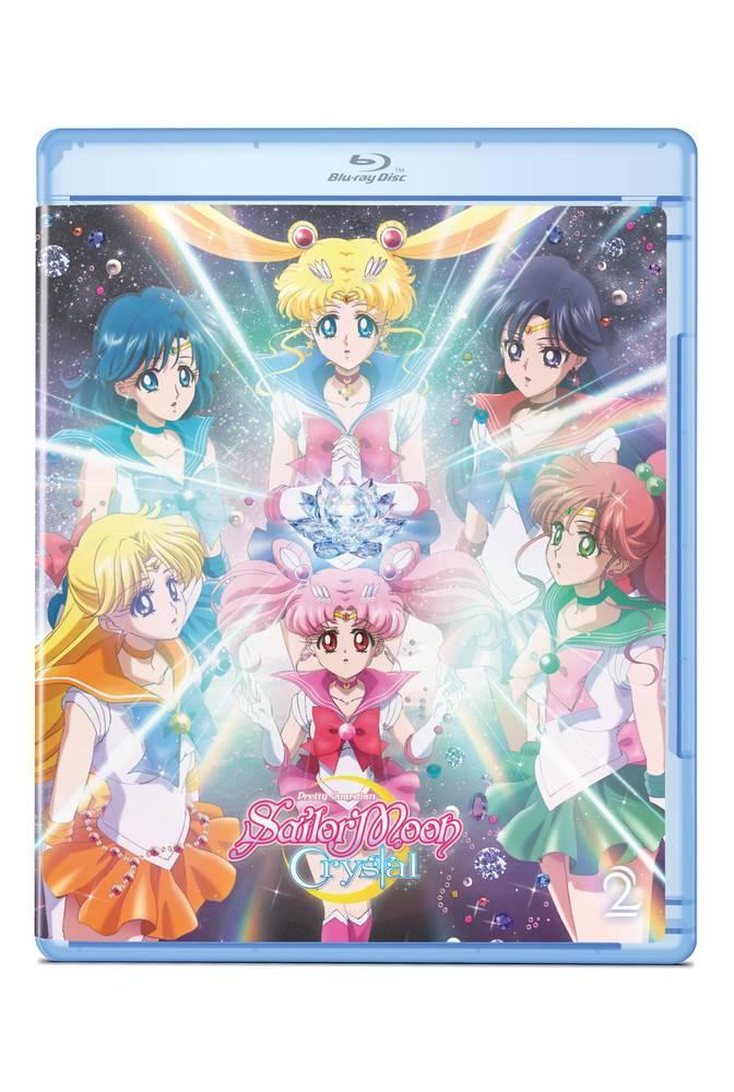 Viz Media Sailor Moon Crystal Set 2 Blu-Ray/DVD