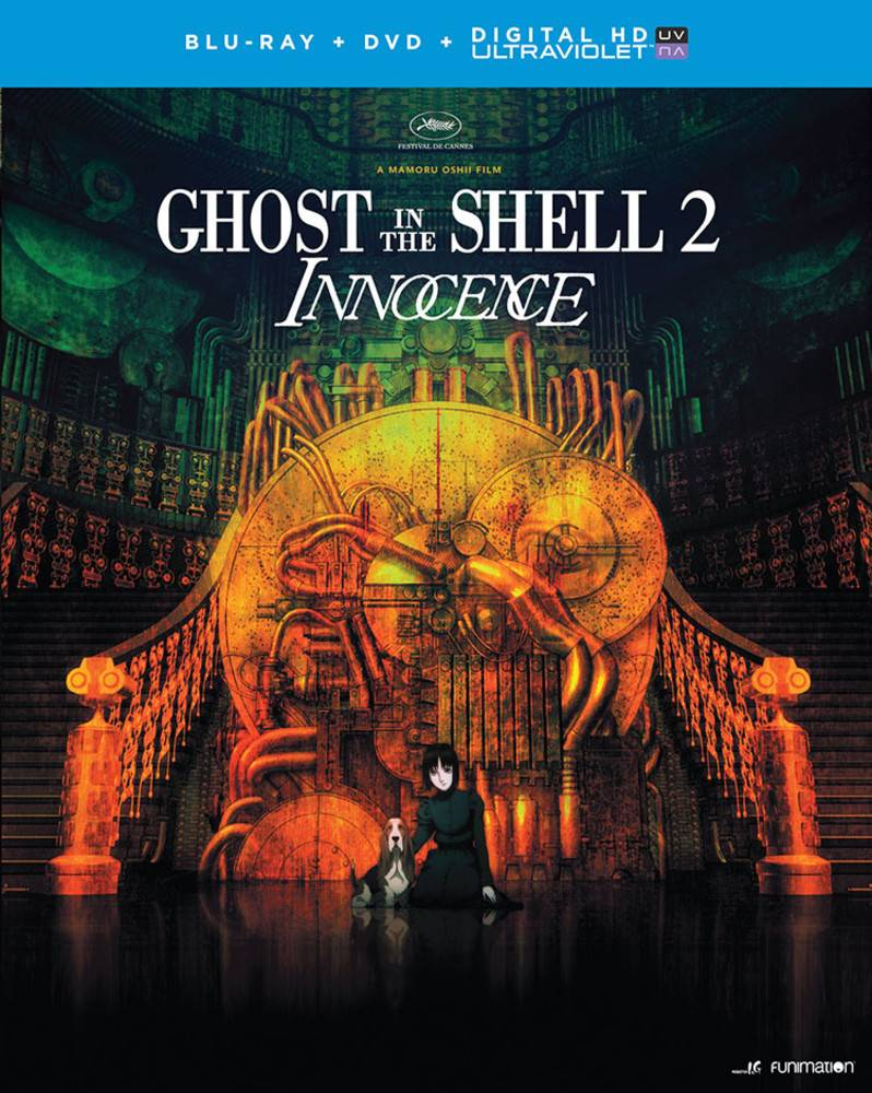 Funimation Entertainment Ghost in the Shell 2 Innocence Blu-Ray/DVD