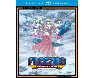 funimation entertainment freezing vibration anime classics blu ray