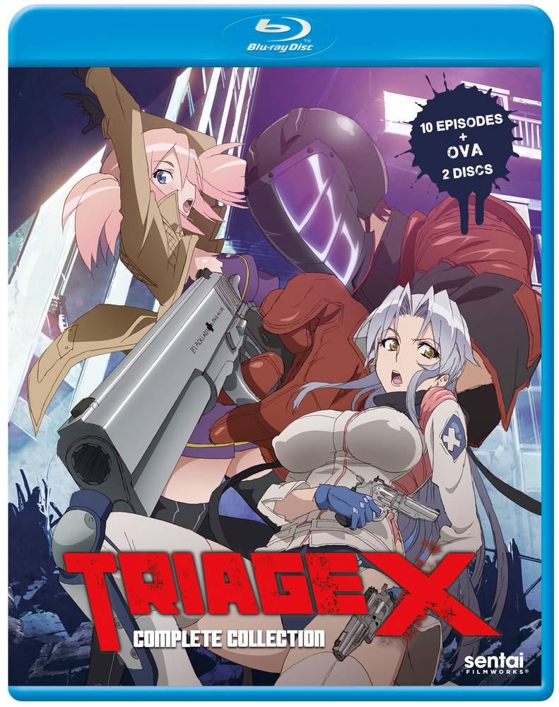 Sentai Filmworks Triage X Complete Series Blu-Ray