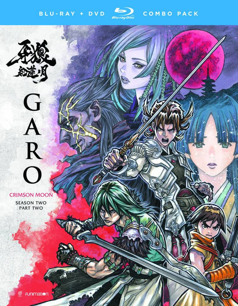 Funimation Entertainment Garo the Animation Season 2 Part 1 Blu-Ray/DVD