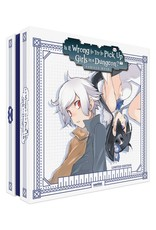 Sentai Filmworks Is It Wrong to Pick Up Girls in a Dungeon? Premium Edition Blu-Ray/DVD