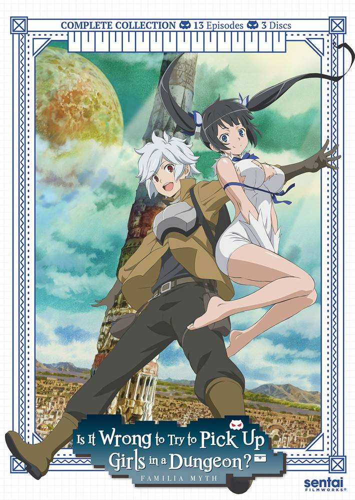 Sentai Filmworks Is It Wrong to Pick Up Girls in a Dungeon? DVD