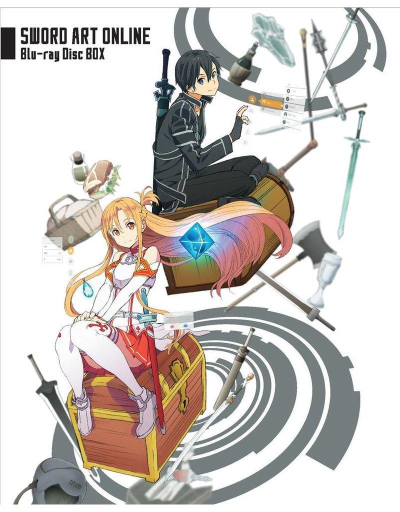 Aniplex of America Inc Sword Art Online Season 1 + Extra Blu-Ray Limited Edition Boxset
