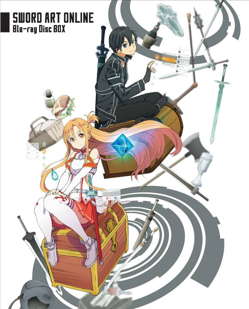 Aniplex of America Inc Sword Art Online Season 1 + Extra Blu-Ray Limited Edition Boxset