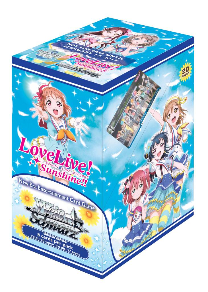 Bushiroad Love Live Sunshine (Full Booster Box) Weiss Schwarz