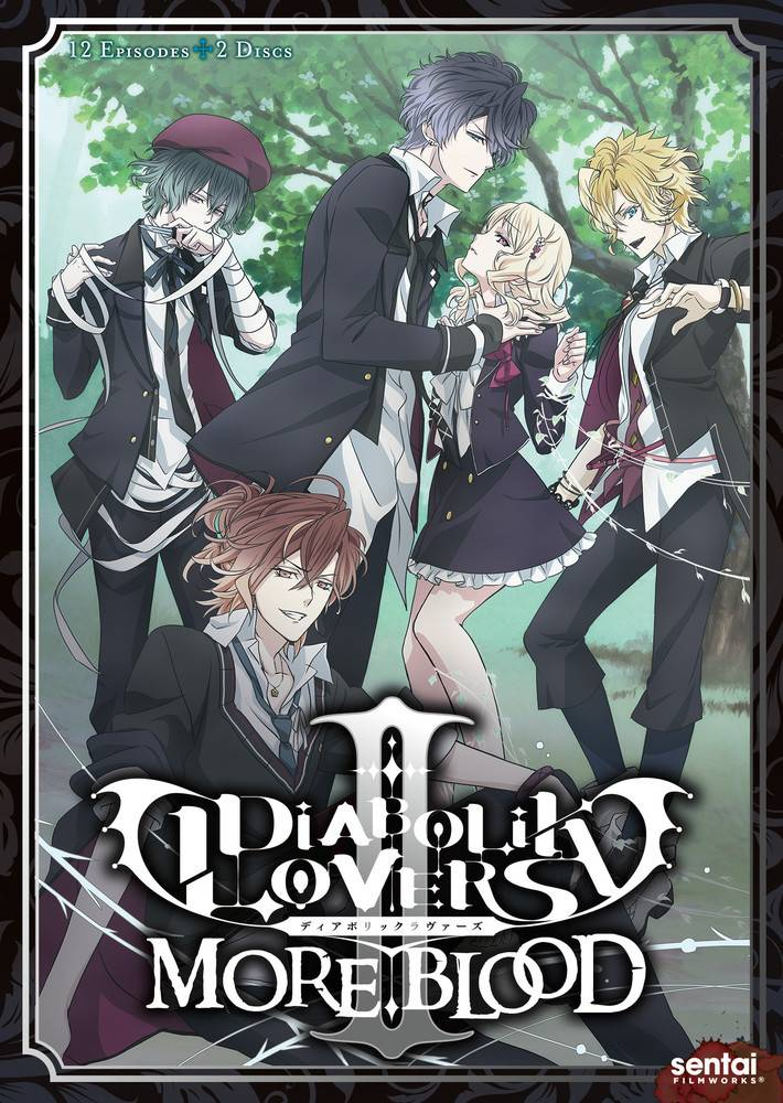 Sentai Filmworks Diabolik Lovers II More Blood Complete Collection DVD