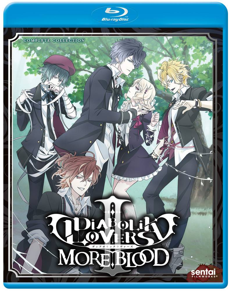 Sentai Filmworks Diabolik Lovers II More Blood Complete Collection Blu-Ray