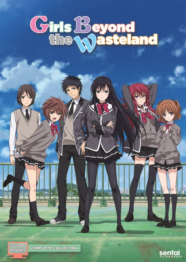 Sentai Filmworks Girls Beyond the Wasteland DVD