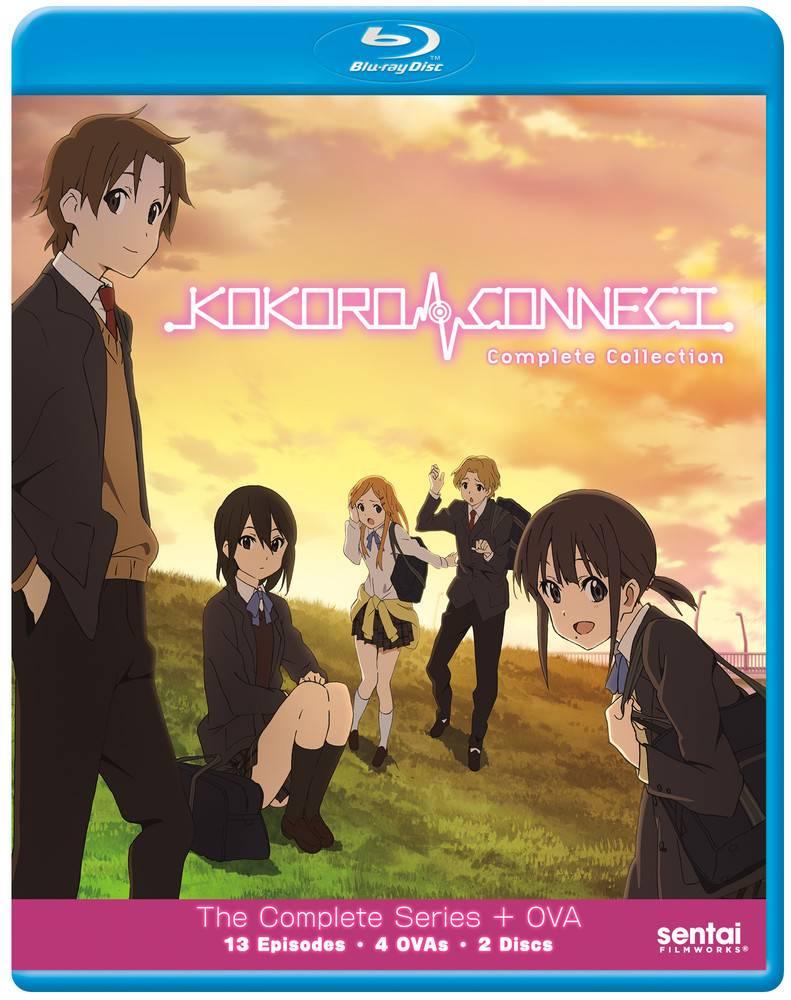 Sentai Filmworks Kokoro Connect Complete TV+OVA Blu-Ray