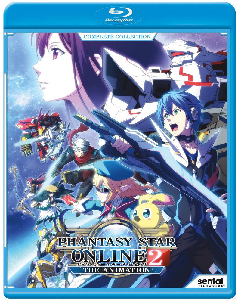 Sentai Filmworks Phantasy Star Online 2 Blu-Ray