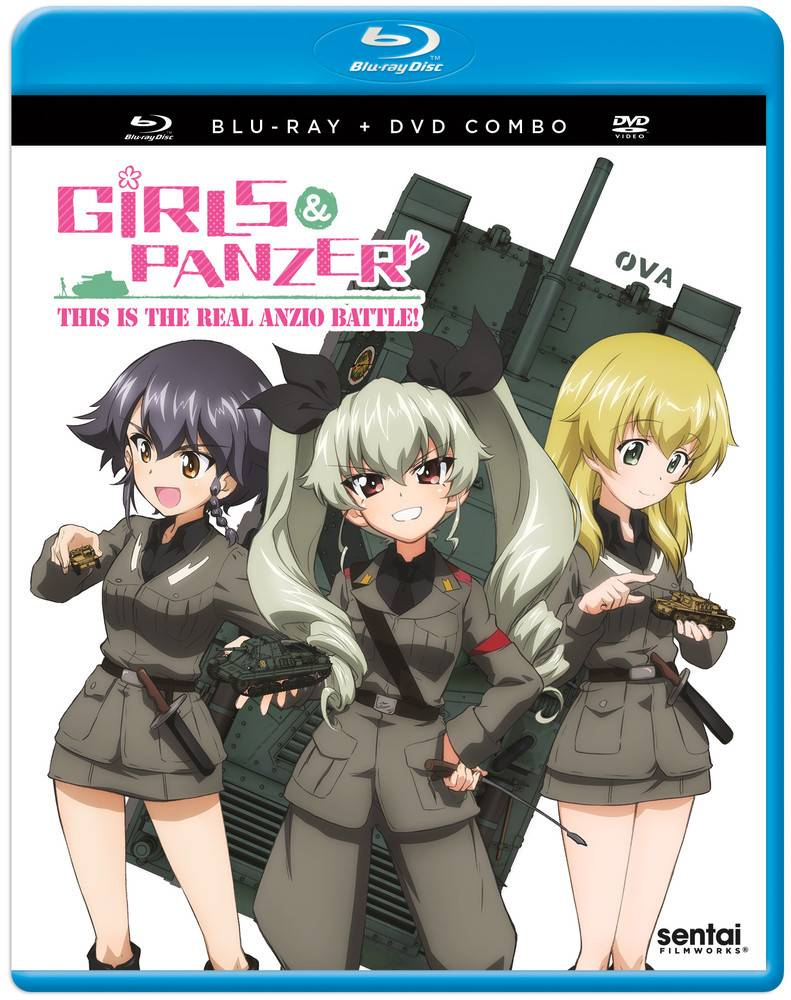 Sentai Filmworks Girls Und Panzer OVA - This Is the Real Anzio Battle! Blu-Ray/DVD