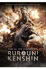 Funimation Entertainment Rurouni Kenshin Part 3: The Legend Ends DVD