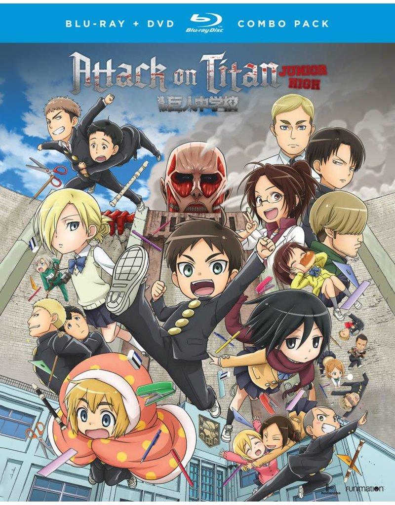 Funimation Entertainment Attack on Titan Junior High Blu-Ray/DVD
