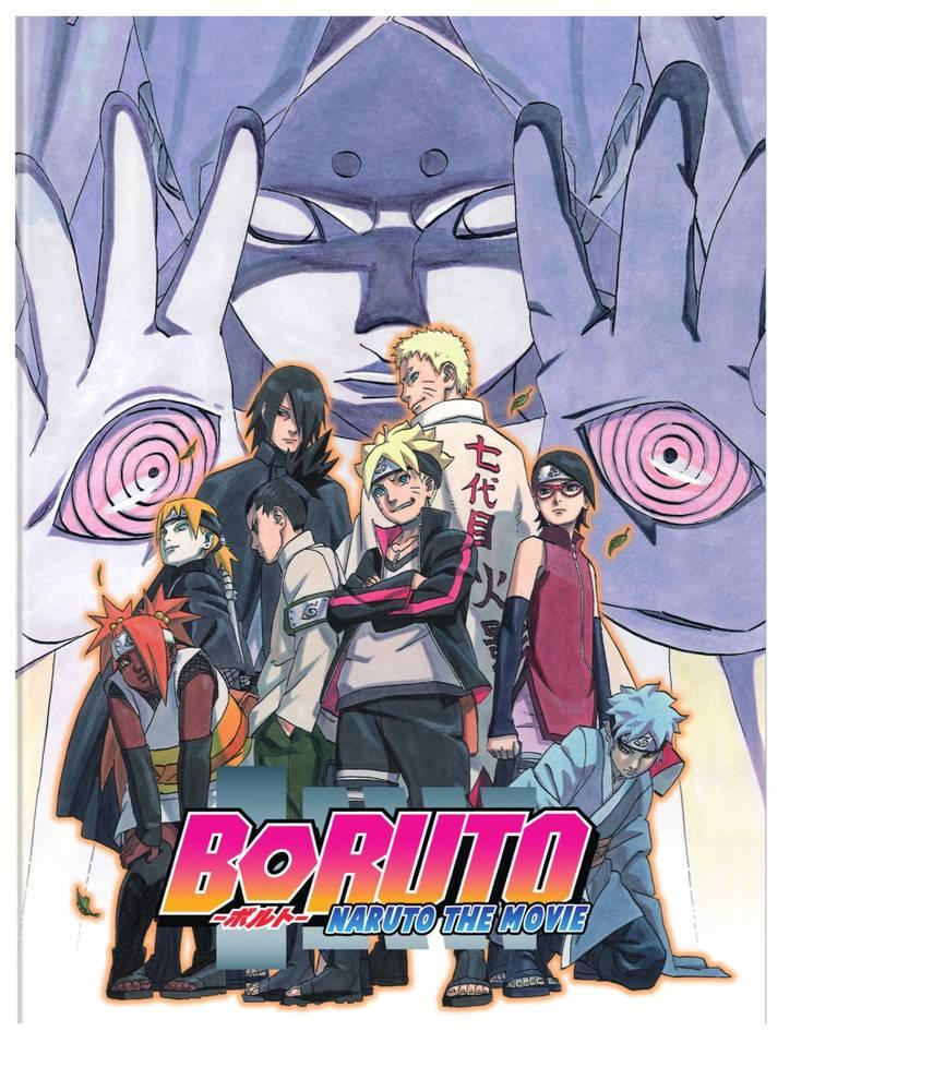 Viz Media Boruto Naruto the Movie DVD