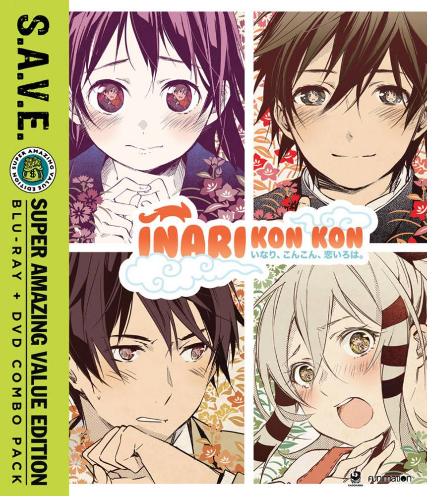 Funimation Entertainment Inari Kon Kon (S.A.V.E. Edition) Blu-Ray/DVD