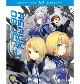 Funimation Entertainment Heavy Object Season 1 Part 2 Blu-Ray/DVD*
