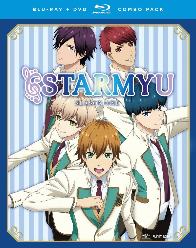 Funimation Entertainment Starmyu Complete Series Blu-Ray/DVD
