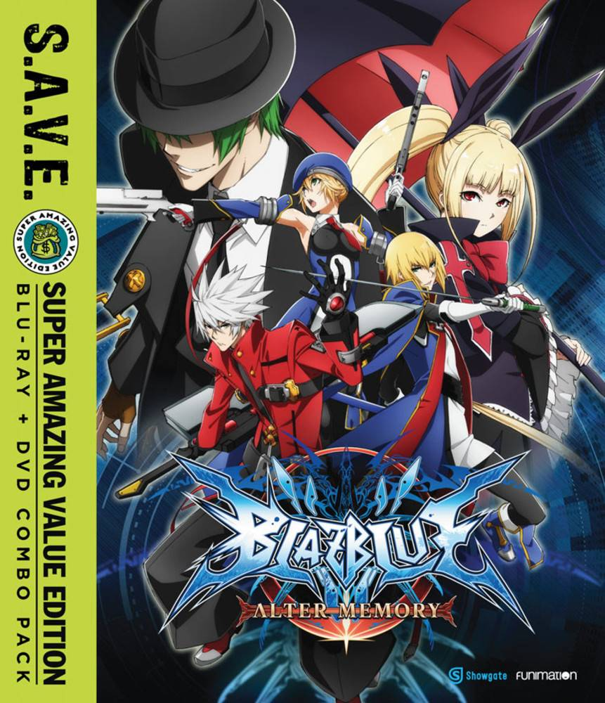 Funimation Entertainment BlazBlue Alter Memory Complete Series (S.A.V.E. Edition) Blu-Ray/DVD