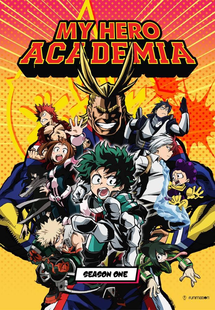 Funimation Entertainment My Hero Academia Season 1 Blu-Ray/DVD