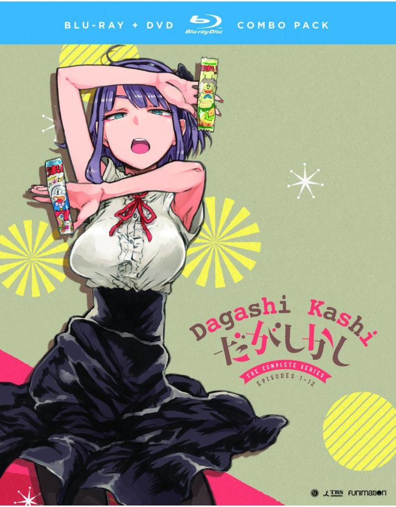 Funimation Entertainment Dagashi Kashi Blu-Ray/DVD