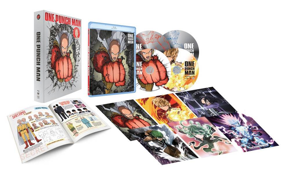 Viz Media One Punch Man Blu-Ray/DVD Limited Edition