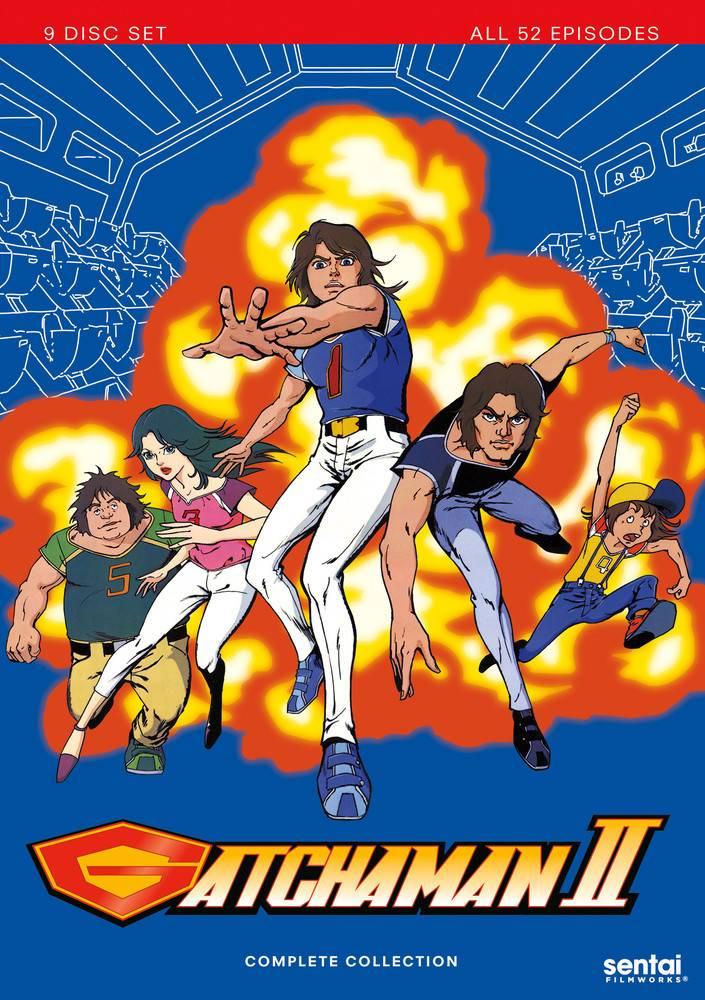 Sentai Filmworks Gatchaman II DVD