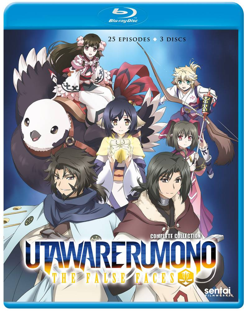 Sentai Filmworks Utawarerumono The False Faces Blu-Ray