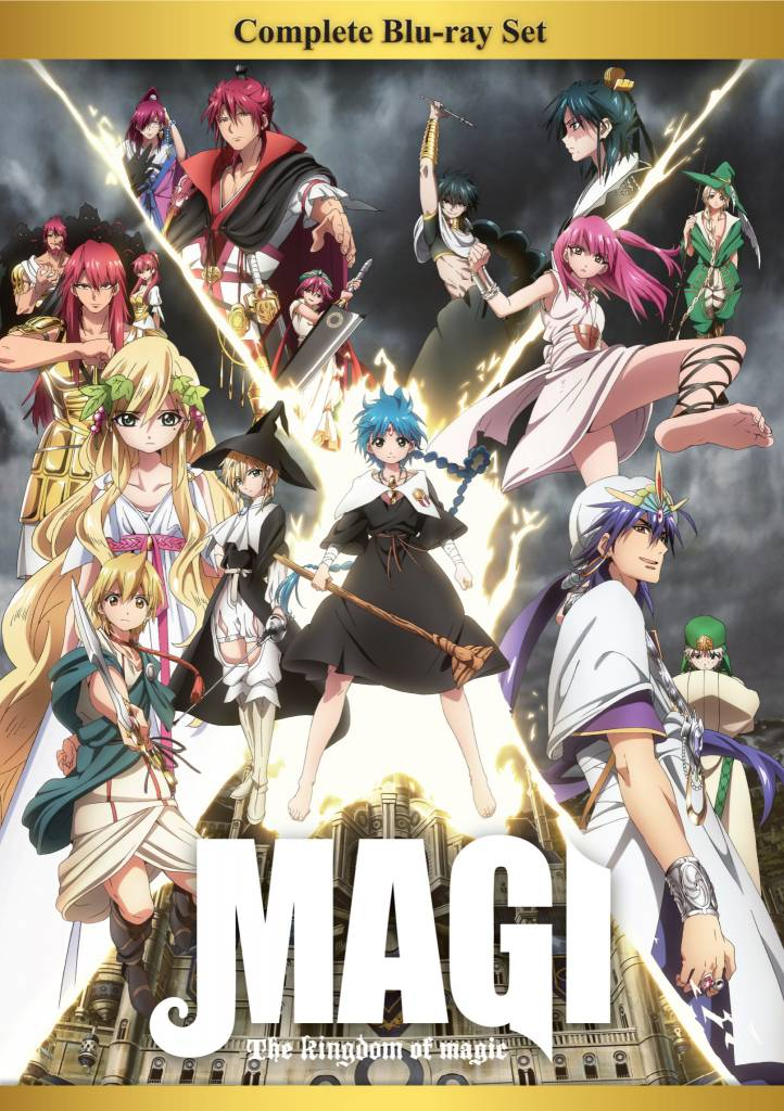 Aniplex of America Inc Magi: The Kingdom of Magic Complete BD Box Set