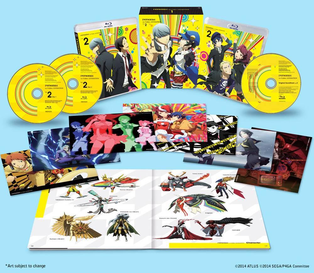 Aniplex of America Inc Persona 4 the Golden Vol. 2 Blu-Ray