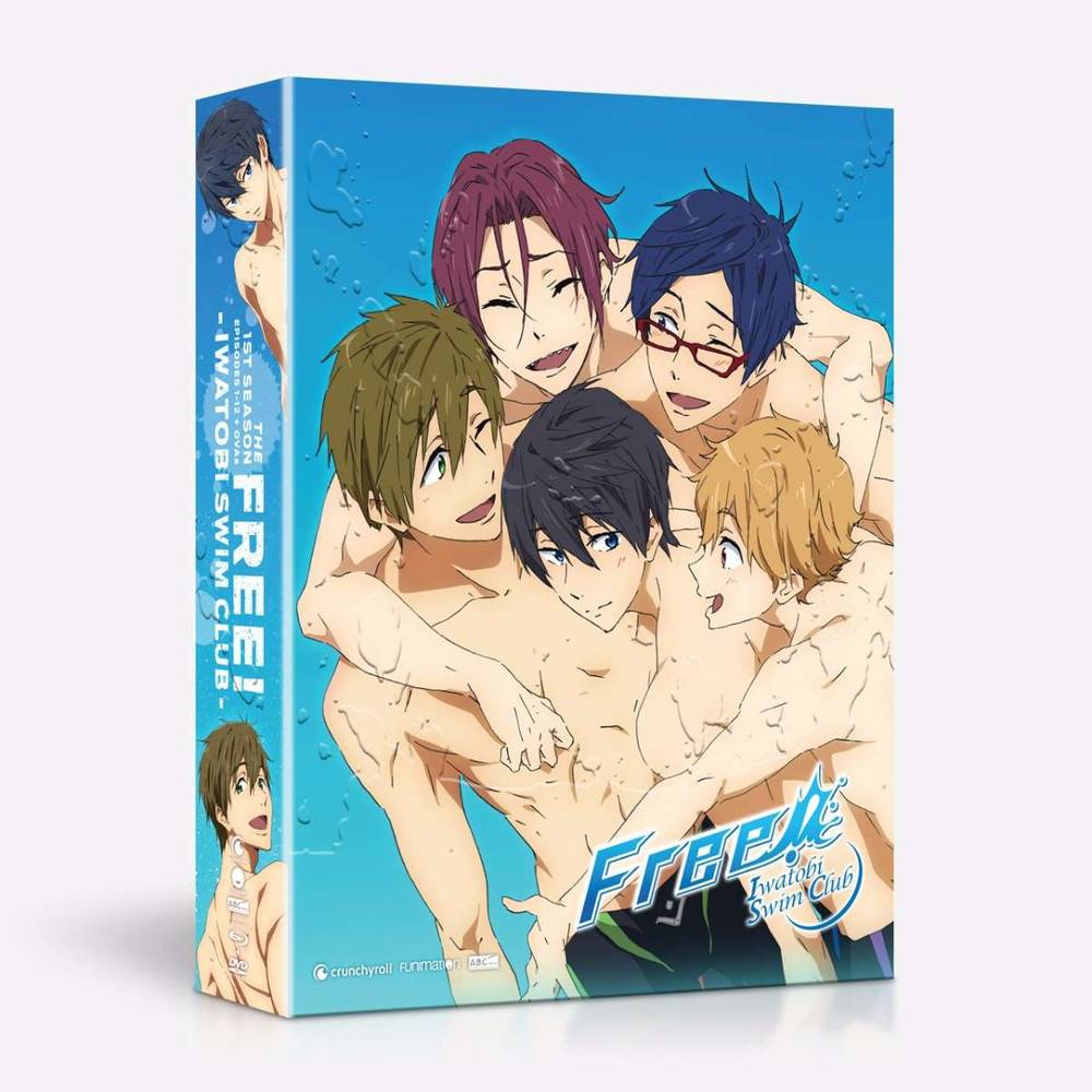 Funimation Entertainment Free - Iwatobi Swim Club (Season 1) Blu-Ray/DVD LE