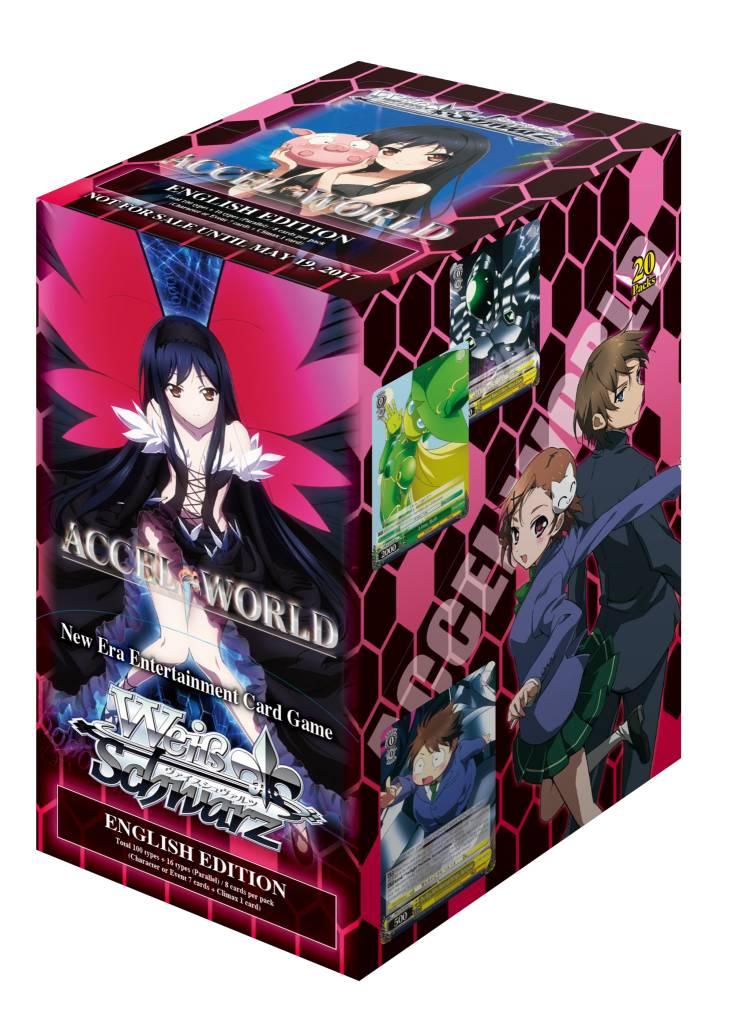 Bushiroad Accel World (Full Booster Box) Weiss Schwarz