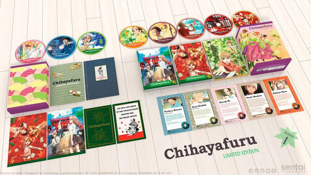 Sentai Filmworks Chihayafuru Season 1 Premium Edition