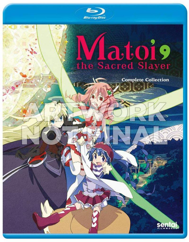 Sentai Filmworks Matoi the Sacred Slayer Blu-Ray
