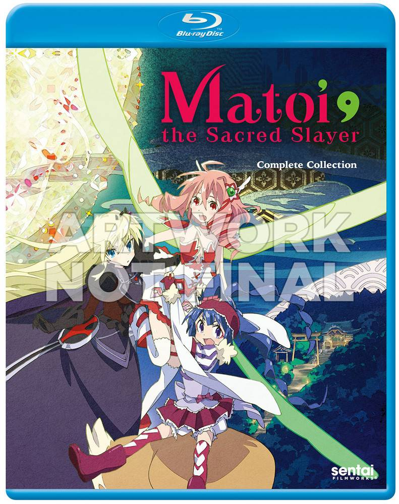 Sentai Filmworks Matoi the Sacred Slayer Blu-Ray
