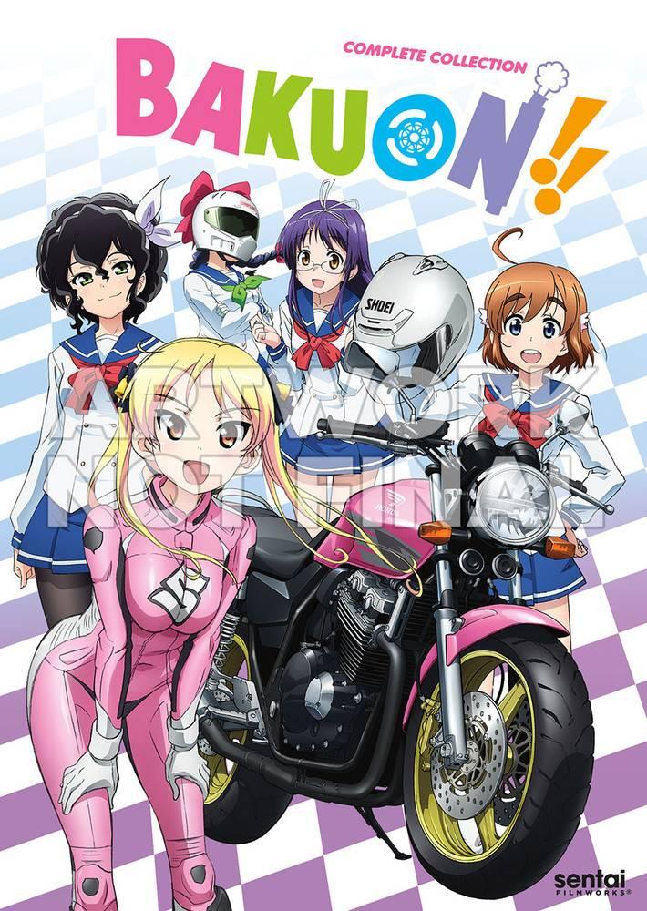 Sentai Filmworks Bakuon!! DVD