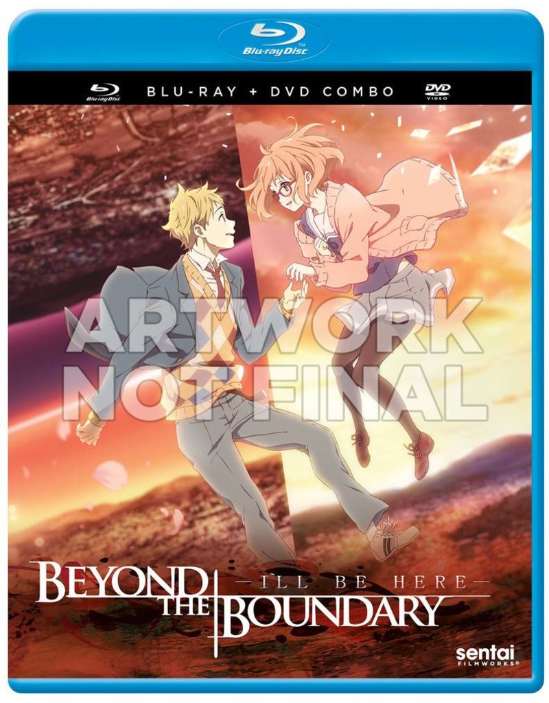 Sentai Filmworks Beyond the Boundary Movie (I'll Be Here) Blu-Ray/DVD