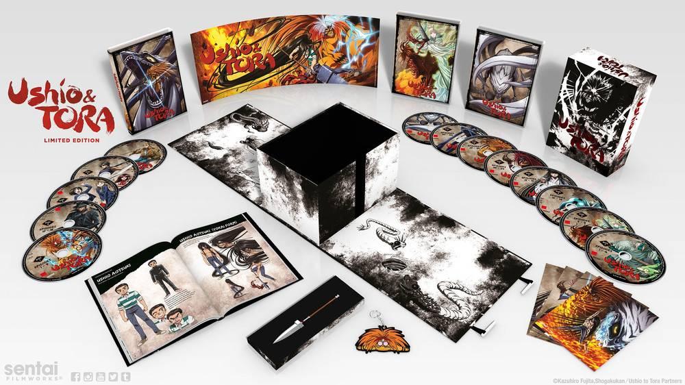 Sentai Filmworks Ushio and Tora Premium Edition
