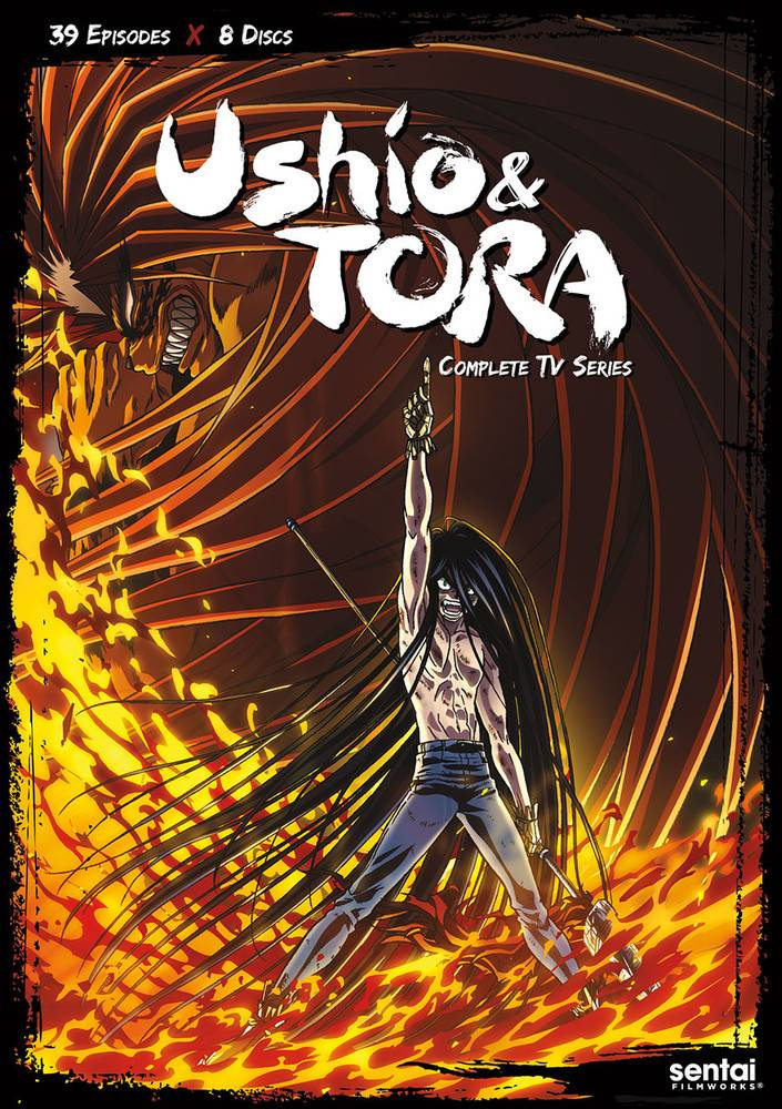 Sentai Filmworks Ushio and Tora DVD