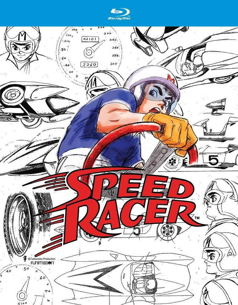 Funimation Entertainment Speed Racer Blu-Ray