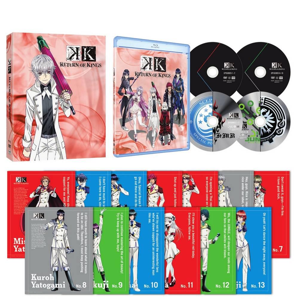 Viz Media K - Return of Kings Blu-Ray/DVD