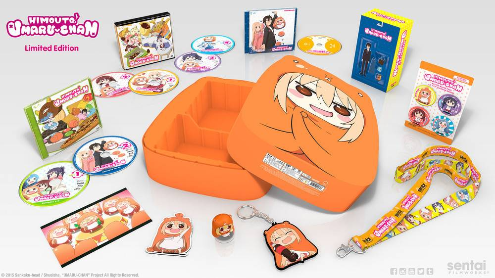 Sentai Filmworks Himouto! Umaru-chan Blu-Ray/DVD Premium Edition