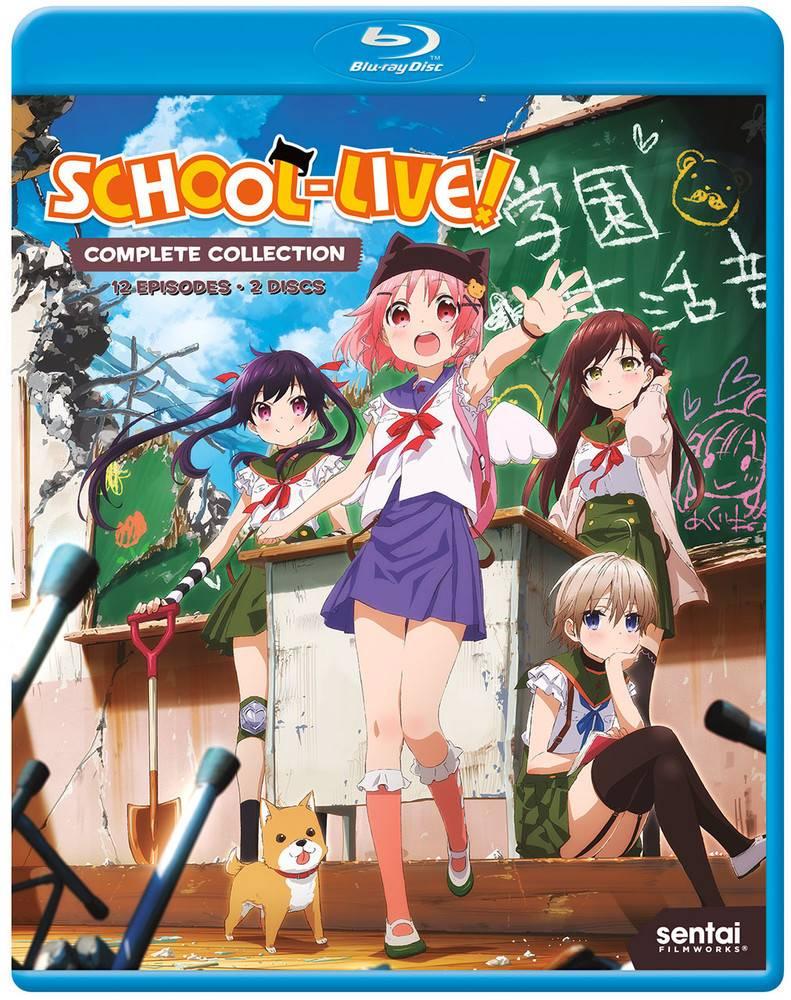 Sentai Filmworks School-Live Blu-Ray
